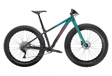 VTT Fatbike Trek Farley 5 27.5'' Shimano Deore 10V Nautical Navy to Teal Fade 2021
