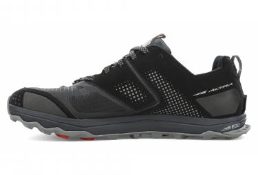 Chaussures de Trail Altra Lone Peak 5 Noir / Rouge