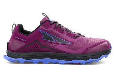 Zapatillas Altra Lone Peak 5 para Mujer Púrpura / Azul