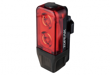 Fanale posteriore Topeak TailLux 25 USB Nero