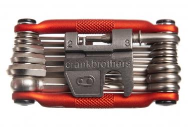Multi-Outils Crankbrothers M19 Édition Alltricks 19 Fonctions Orange