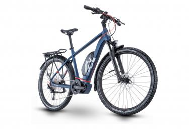 Bicicleta Híbrida Eléctrica Husqvarna Cross Tourer 3 27.5'' Bleu