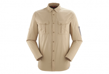 Camisa De Senderismo Lafuma Shield Shirt Khaki Para Hombre Xl