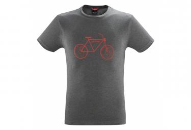 Camiseta Lafuma Adventure Gris Para Hombre M
