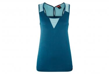 Camiseta de tirantes azul Lafuma Hollie para mujer