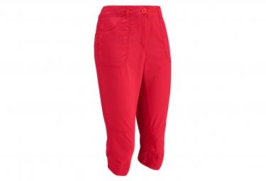 Pantalones De Senderismo 3 4 Lafuma Accessknee Rojo Mujer 40