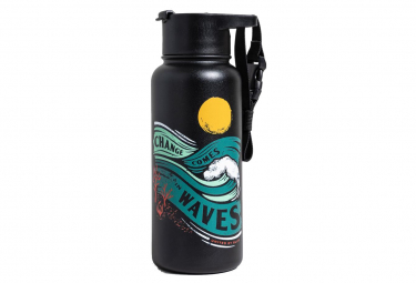 Gourde United By Blue Change Comes In Waves 32OZ Noir 946 ml
