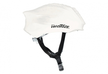 Image of Couvre casque velotoze helmet cover blanc