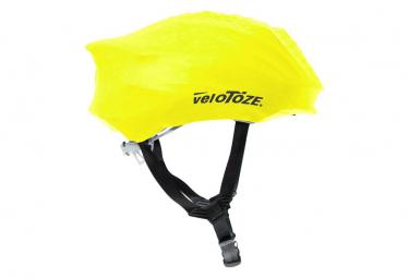 Image of Couvre casque velotoze helmet cover jaune viz