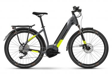 Haibike Trekking 6 Lowstep Womens E-Bike  Gris / Jaune