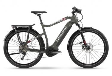 Vélo de Ville Électrique Haibike Sduro Trekking 4 Shimano Deore M4120 10/11V 500 Gris 2021