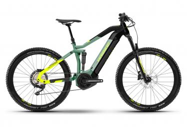 MTB Elettrica Haibike FullSeven 6 27,5' 630 Wh Full Suspension Shimano Deore 12V Defender Green / Black 2021
