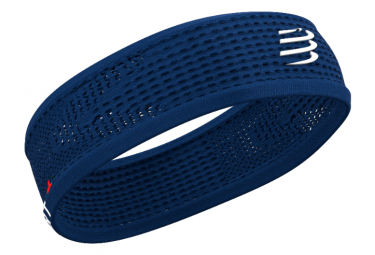 Bandeau Compressport Thin Headband On/Off Bleu Unisex