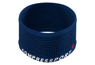 Bandeau Compressport Headband On/Off Bleu Unisex