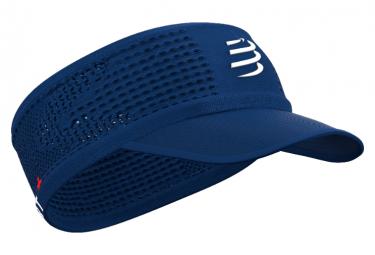 Bandeau Compressport Spiderweb Headband On/Off Bleu Unisex