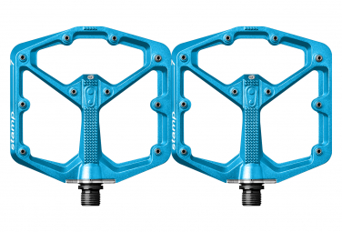 Coppia di pedali Crankbrothers Stamp 7 blu