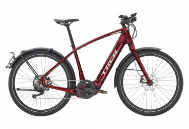 Trek Allant + 8S bici elettrica Shimano Deore 10S 625 Wh 650b Rage Red 2020