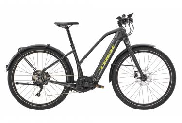 Trek Allant + 8S Stagger City Bike elettrica Shimano Deore 10V 625 Wh 650b Lithium Grey 2021