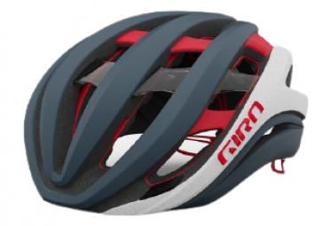 Casco Giro Aether Spherical MIPS Portaro Grigio / Bianco / Rosso 2021