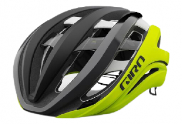 Giro Aether Spherical MIPS Helmet Black / Matte Fluo Yellow 2021