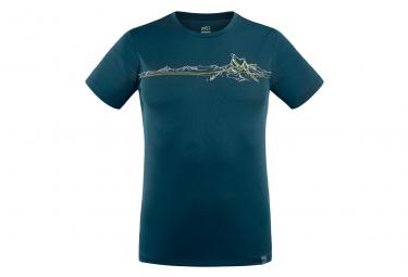 Tee shirt Millet Boren Bleu Homme