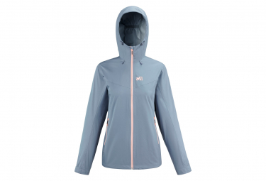 Chaqueta Impermeable Millet Fitz Roy Azul Mujer S