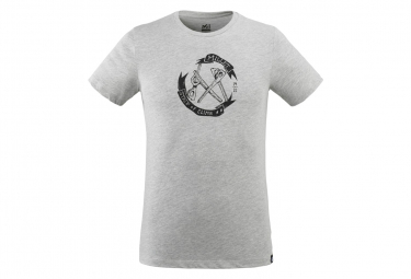 Camiseta Millet Old Gear Gris Para Hombre M