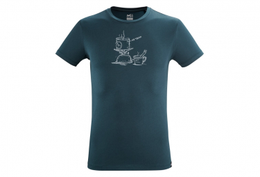 Camiseta Millet Camp Blue Man M
