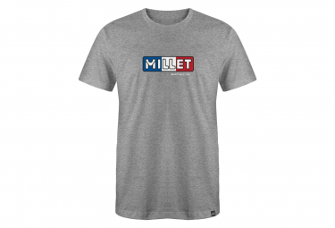 Camiseta Millet Mangas Cortas M1921 Gris Hombre M