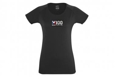 Camiseta Millet M100 Manga Corta Negro Mujer S