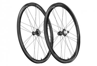 Juego de ruedas Campagnolo Shamal Carbon Disc | 12x100 - 12x142 mm | Centerlock
