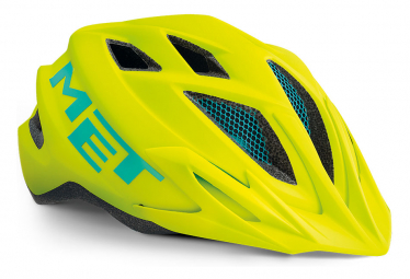Casco Met Crackerjack Amarillo Neon 2021 Unique  52 57 Cm