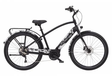 Vélo de Ville Électrique Electra Townie Path Go 10D EQ Step-Over Shimano Deore 10V 500 Noir 2021