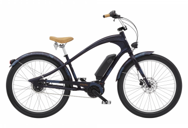 Vélo de Ville Électrique Electra Navigator Go! Shimano Nexus 5V 500 Bleu 2021