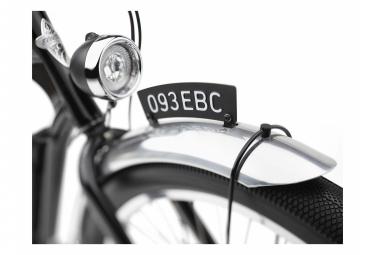 Vélo de Ville Électrique Electra Ghostrider Go! Shimano Nexus 5V 500 Noir 2021