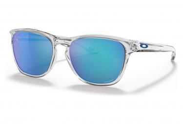 Occhiali da sole Oakley Manoburn Polished Clear / Prizm Sapphire / Ref.OO9479-0656
