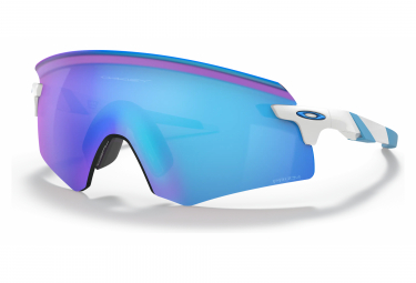 Lunettes Oakley Encoder Polished White / Prizm Sapphire Ref.OO9471-0336