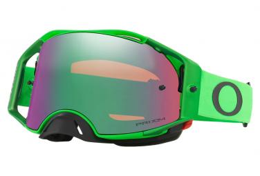 Masque Oakley Airbrake MX Moto Vert Prizm MX Jade Iridium Ref. OO7046-A0
