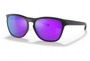 Lunettes Oakley Manoburn Matte Black / Pzim Violet / Ref.OO9479-0356