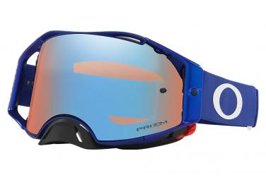 Masque Oakley Airbrake MX Moto Bleu Prizm MX Sapphire Ref. OO7046-A2