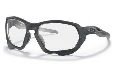 Oakley Plazma Matte Carbon / Clear To Black Iridium Photochromic / Ref.OO9019-0559 Occhiali da sole