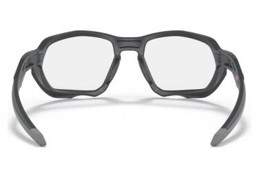 Lunettes Oakley Plazma Matte Carbon / Clear To Black Iridium Photochromic / Ref.OO9019-0559