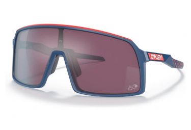 Oakley Sutro Tour de France Sonnenbrille / Mat Poseidon / Prizm Road Schwarz / Ref. OO9406-5837