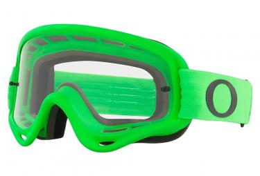 Masque Oakley O-Frame MX Moto Vert Transparent Ref. OO7029-64