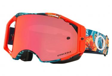 Masque Oakley Airbrake Cosmic Jungle Bleu / Prizm Rouge Ref. OO7107-10