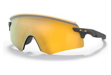 Occhiali Oakley Encoder Matte Carbon / Prizm 24K OO9471-0436