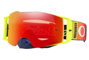 Masque Oakley Front Line MX Troy Lee Designs Graph Jaune Prizm MxTorch Iridium Ref. OO7087-64