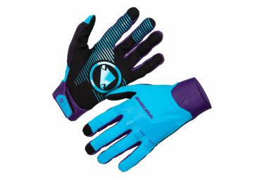 Guantes Endura Mt500 D3o Azul M