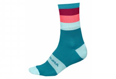 Endura Bandbreite Paisley Socken Blau