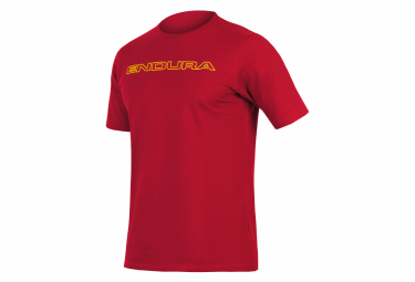 T-shirt Endura Carbone One Clan Rouille